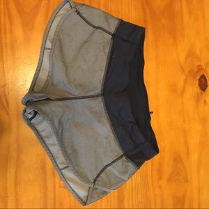 EUC lululemon Run: Speed shorts